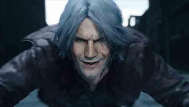 E3 2018:《鬼泣5》公布!白发红衣的潮男回来了!