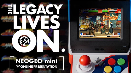 SNK NEOGEO mini游戏机网络发布会