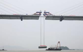 福州绕城高速东南段新进展 长门特大桥11日合龙