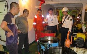 防城港渔万海事处开展船载危险货物安全综合治理