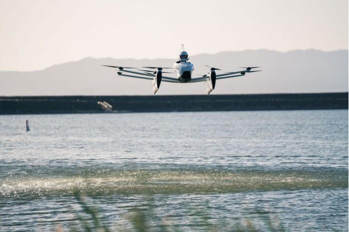 可水上起降 Kitty Hawk推升级版飞行汽车