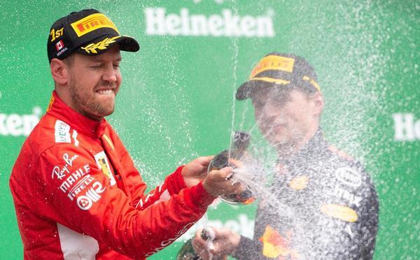 F1加拿大站维特尔轻松获胜 阿隆索再次退赛