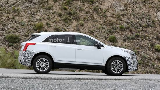 或明年底特律车展亮相 新款XT5测试谍照