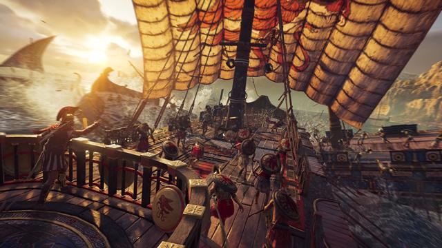 E3 2018:希腊篇开启 《刺客信条:奥德赛》发售日公布