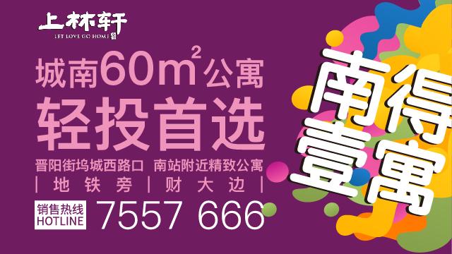 上林轩 城南60㎡公寓轻投首选
