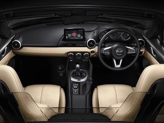 外形不变动力提升 新款马自达MX-5官图