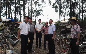 广西区纪委督察组到防城港市对问题整改情况进行督察