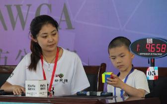 刷新亚洲纪录!2018WCA石家庄魔方公开赛成绩