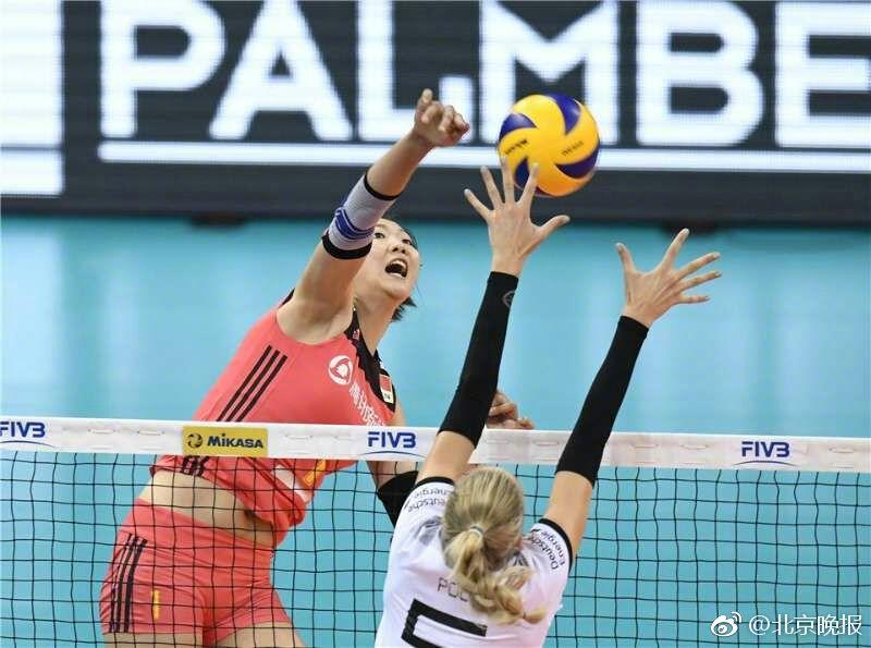 女排世联赛中国变阵大逆转 德国站首战3-2东道