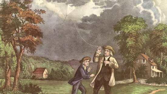 书摘 勇敢者&恶作剧:富兰克林可曾用风筝捕捉
