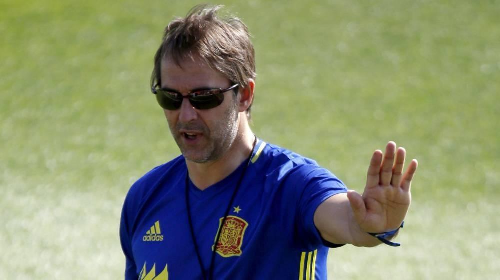 西班牙官方宣布洛佩特吉下课,世界杯前1天换帅