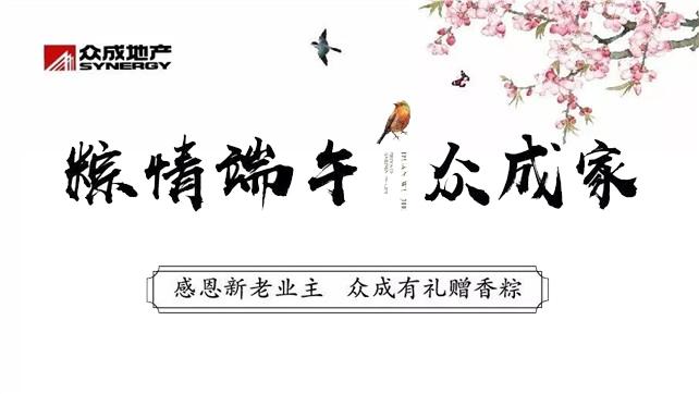 【明月华庭】粽情端午 飘香众成家