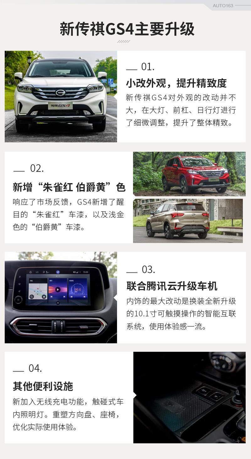 实力爆款SUV再获升级 试驾新款传祺GS4