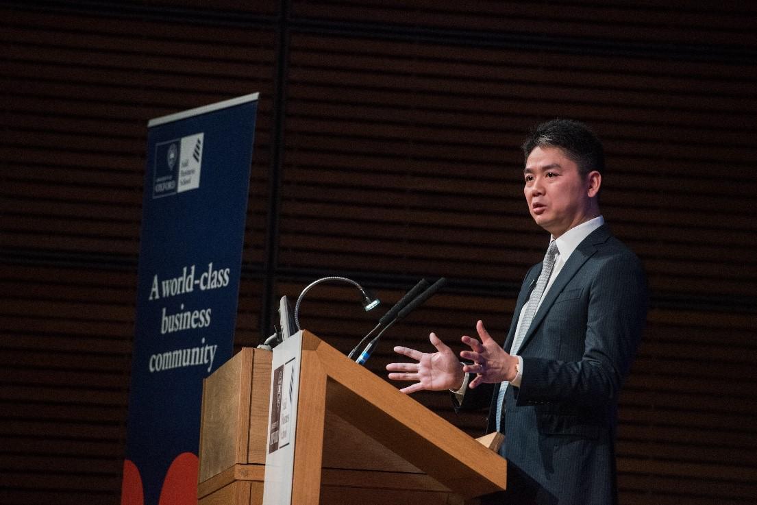 刘强东:问题越多的行业获得成功的机会也越多