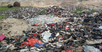 河北大沙河河堤现3公里垃圾带 河长制形同虚设