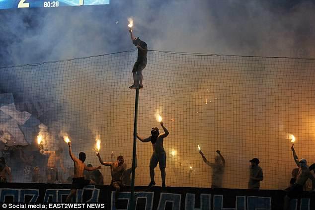 疯狂的俄罗斯球迷