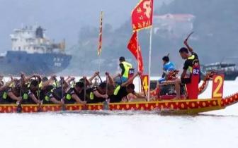 防城港市2018年海上国际龙舟赛来啦!最大亮点是···