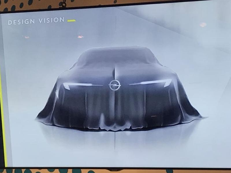 无意推出量产版? 欧宝新GT概念车预告图