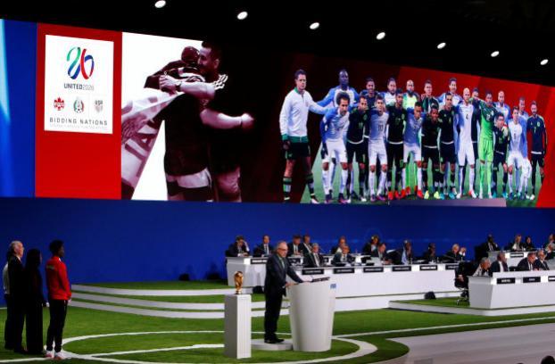 美加墨三国合办2026世界杯 国际足联放大招助国足参赛!