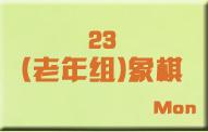 23(老年组)象棋