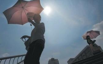 """端午假期""""多云+局地阵雨"""" 最高温达34℃"""
