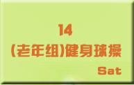 14(老年组)健身球操