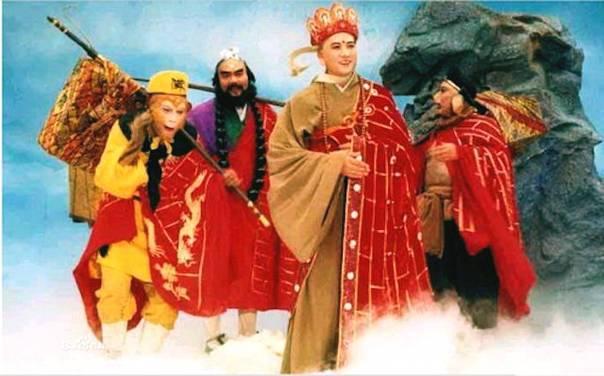 央视《西游记》师徒四人重聚上海 童年偶像被颠覆