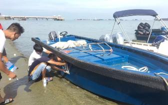 打击非法海上游 保护游客的人身财产安全