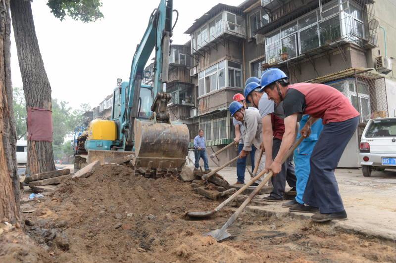 首批老旧小区改造工程集中开工启动 有你家吗?