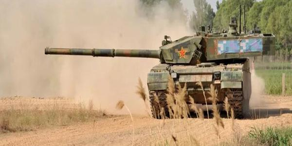精兵强将!陆军某部比武竞赛99A坦克展神威