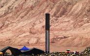 新疆火焰山景区气温飙升