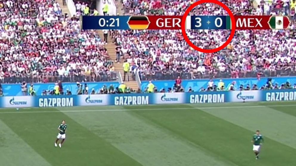 德国开场就被官方毒奶3-0 真把墨西哥当意大利了?