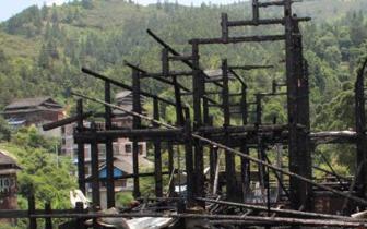 广西一村寨楼房起火1家4口遇难 房内曾传绝望喊叫