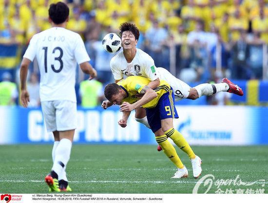 输在哪?瑞典只用了最简单的一招 就打趴了韩国人