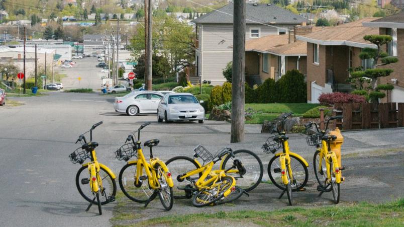 共享单车乱象不只国内有 美国能解决吗
