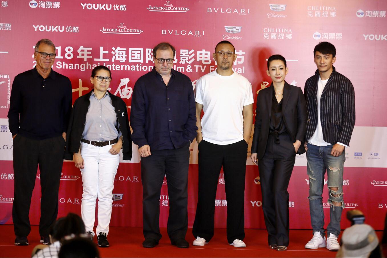 """姜文张震谈""""金爵奖""""影片评选:盼感染人心的电影"""
