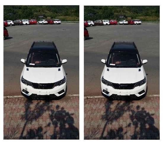 搭载1.6L和1.8L动力 比速T3新车型申报图