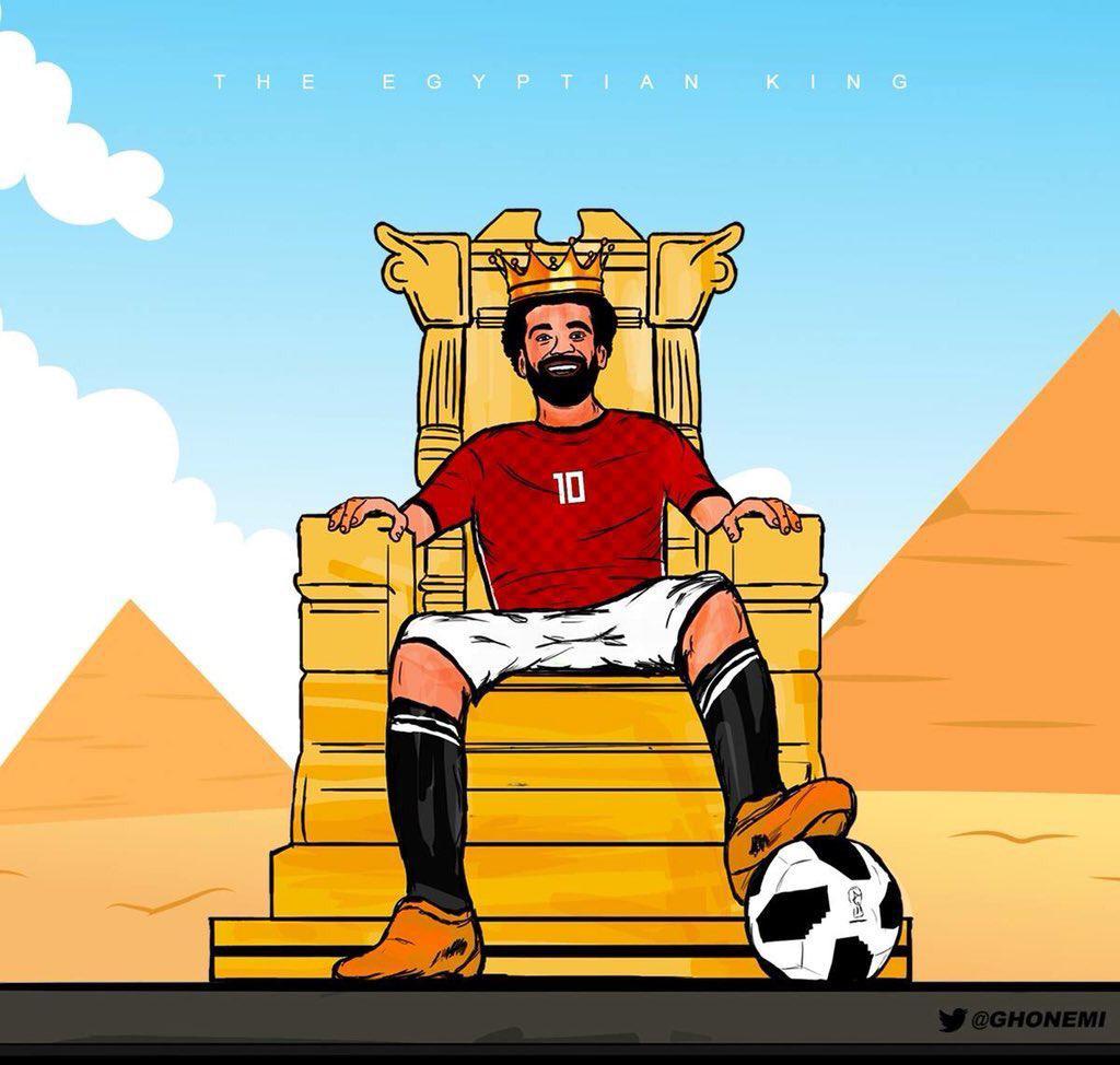 萨拉赫确认将世界杯首秀:准备就绪 一亿人民雄起