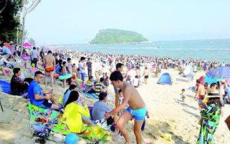 端午假期16万人次游大亚湾