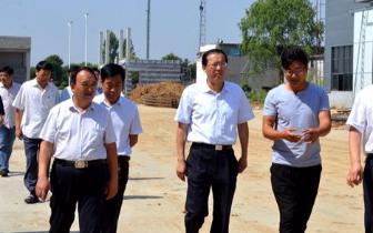 周天龙 唐河县委副书记 县长周天龙调研重点企业