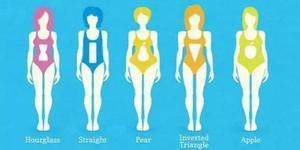 女人身材有五种 你属于哪一种?