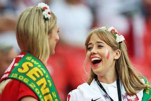 球迷颜值哪家强 欧洲还靠波兰扛