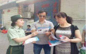 """三门峡特色宣传 密织夏季""""防火网"""""""