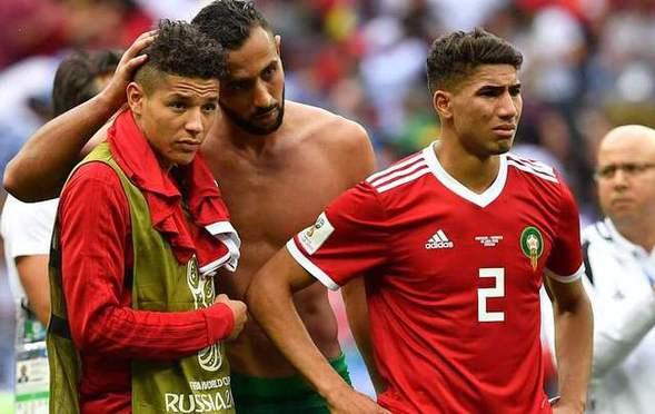 摩洛哥OUT!球员情绪低落悲情谢场
