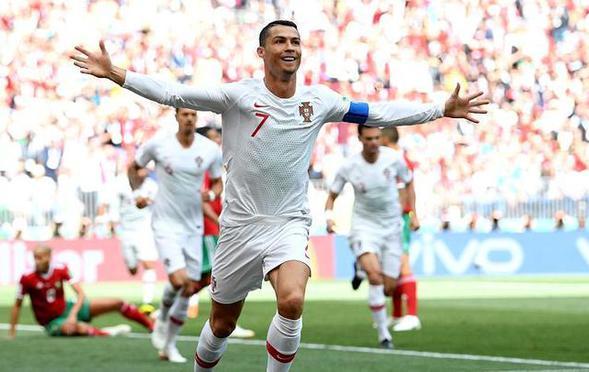 C罗破门 葡萄牙1-0送摩洛哥出局