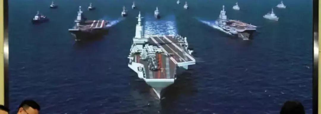 官方照片曝光国产弹射型航母 配备三套弹射器