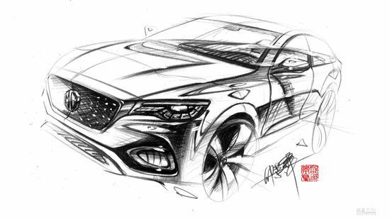 MG X-motion概念车量产版命名为名爵HS