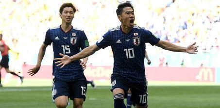 日本2-1胜10人哥伦比亚 为亚洲洗刷耻辱纪录