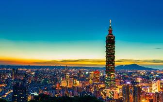 统计显示:台北生产总额占全台23.2% 金融业贡献多