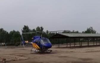 唐山该地区成功用飞机施药防治美国白蛾!